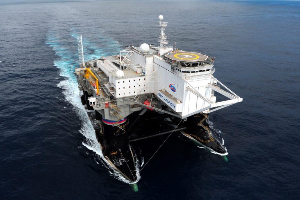 «Морской старт»: космических бродяга океанских путей